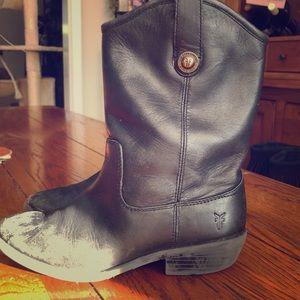 Frye boots, riding, cowboy